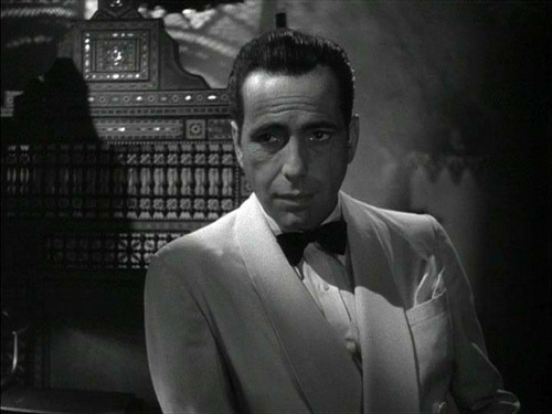 Casablanca wallpaper with a business suit titled Rick  Blaine