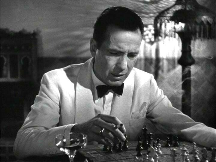 an analysis of rick blaine in casablanca Casablanca (1942) philosophical issues: moral conflict, civil  disobedience characters: rick blaine (humphrey bogart), ilsa lund (ingrid .