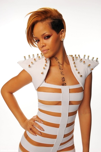 Rihanna wallpaper possibly containing a leotard and tights titled Rihanna