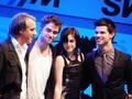 Rob, Kristen, & Taylor in Munich - twilight-series photo