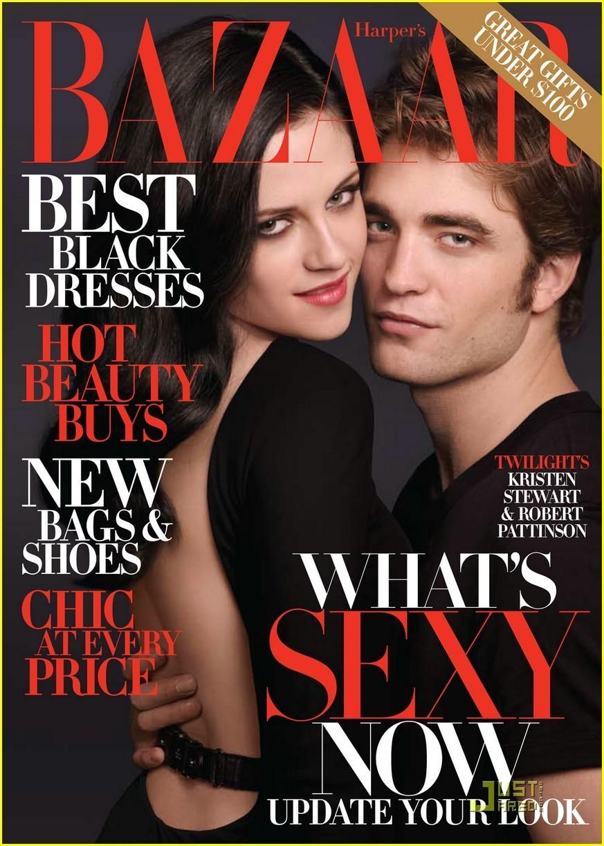 Robert Pattinson & Kristen Stewart Harper's Bazaar