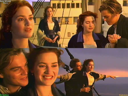 Rose,Titanic and Jack