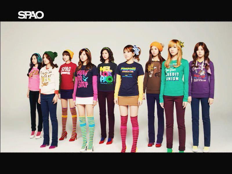 SPAO<3SNSD - Girls Generation/SNSD 800x600