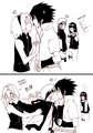 Sasuke belongs to Naruto!