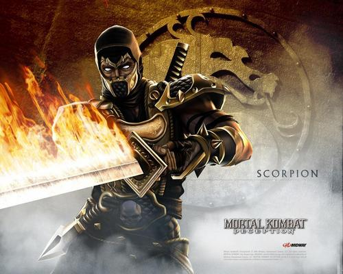 Mortal Kombat kertas dinding called kala jengking
