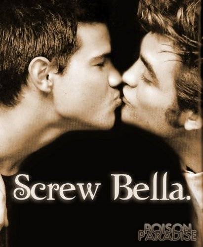 Critical Analysis of Twilight wallpaper with a portrait titled Screw Bella