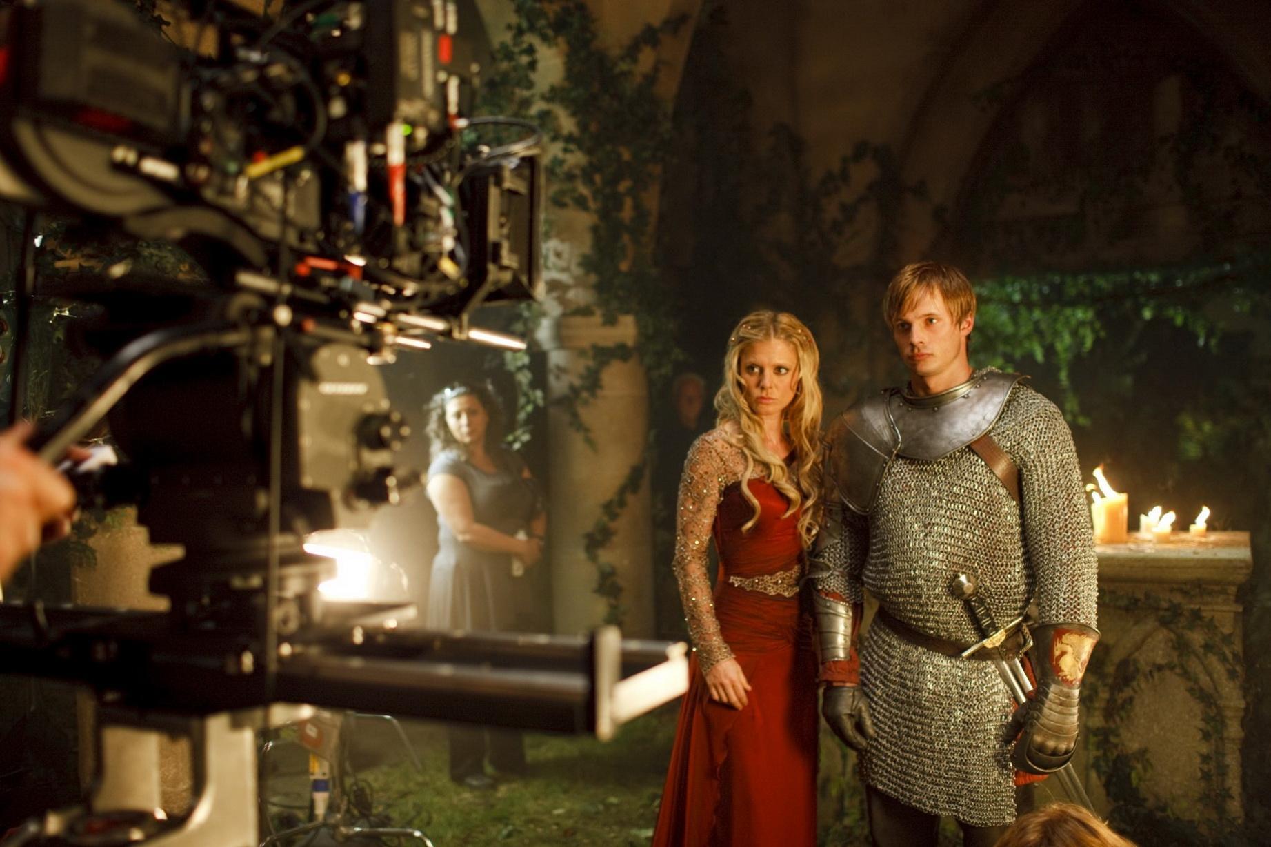 Season Ii Behind The Scenes Merlin On Bbc Photo