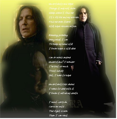Severus-Uncertainty and Hope