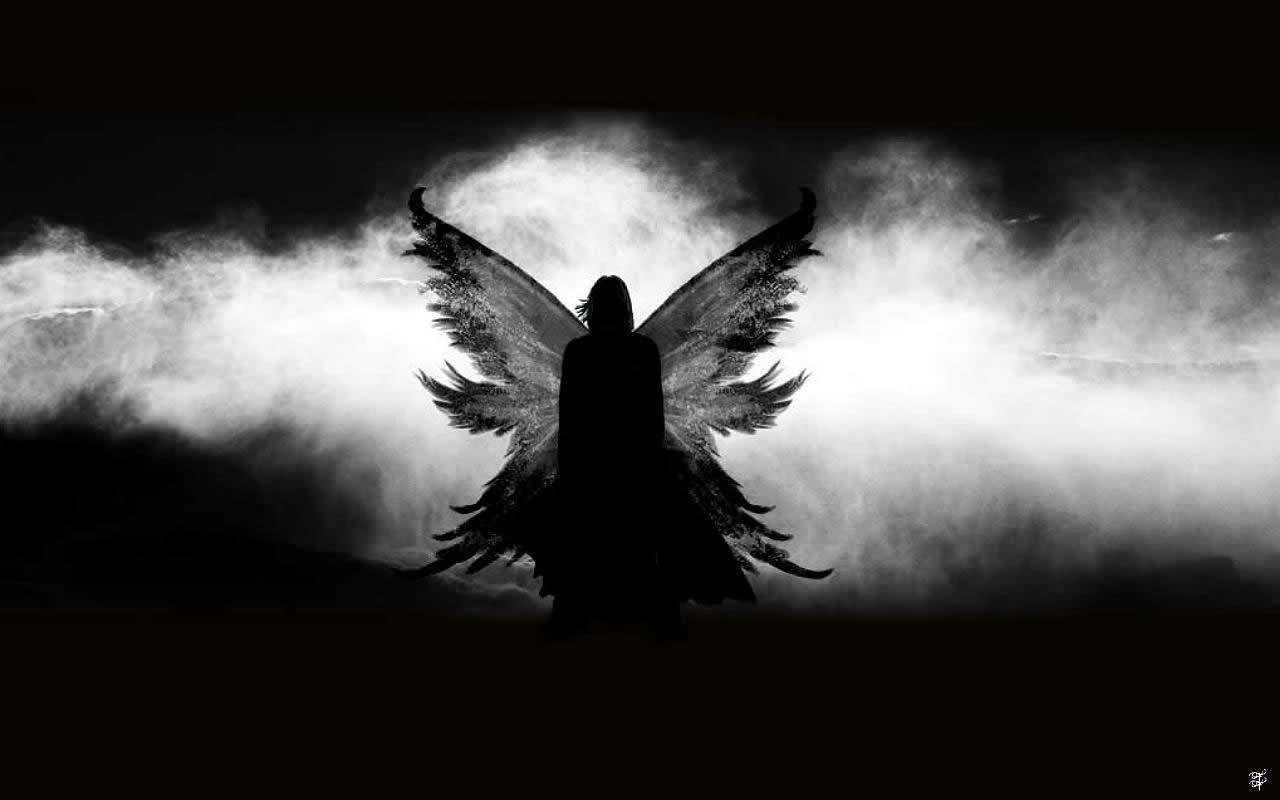 Severus Snape Shadow Angel
