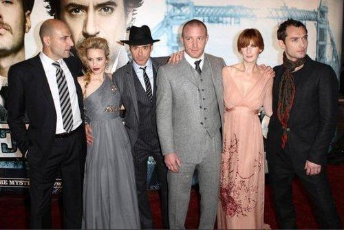 Sherlock Holmes Premiere