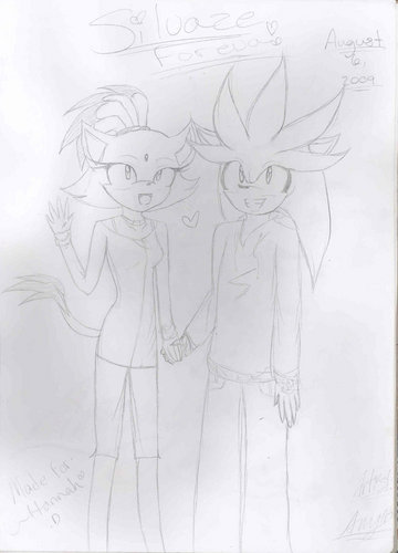 Silver and Blaze <3