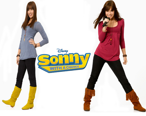 Sonny With A Chance kertas dinding called Sonny with a chance-DEMI LOVATO