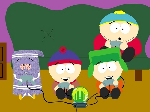 South Park kertas dinding