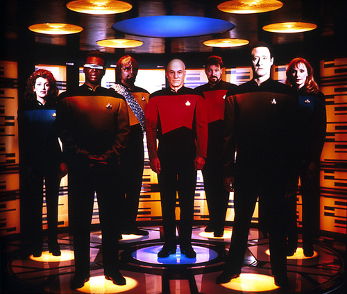 Star Trek-The Next Generation wallpaper possibly containing a concert called Star Trek-The Next Generation