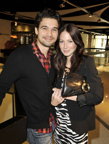 Steven Strait and his wife, Lynn Collins