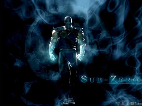 Mortal Kombat Wallpaper Entitled Sub Zero
