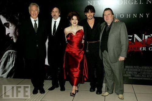 Sweeney Todd Premiere - Londres