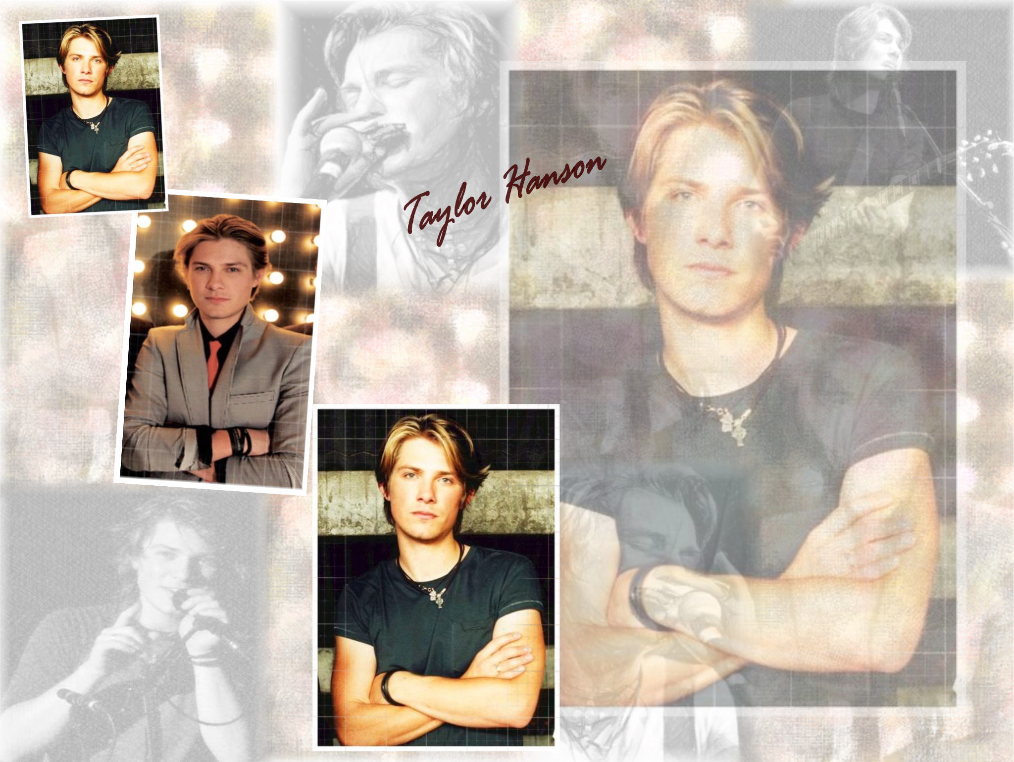 taylor hanson family pictures
