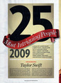Taylor Swift, People Magazine scans