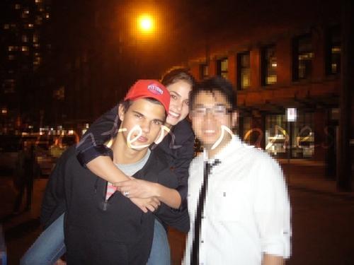 Taylor and Nikki with a shabiki