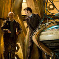 The Doctor and Wilf in the tardis