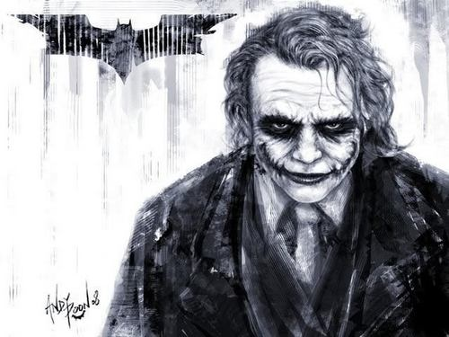 小丑 壁纸 entitled The Joker <3