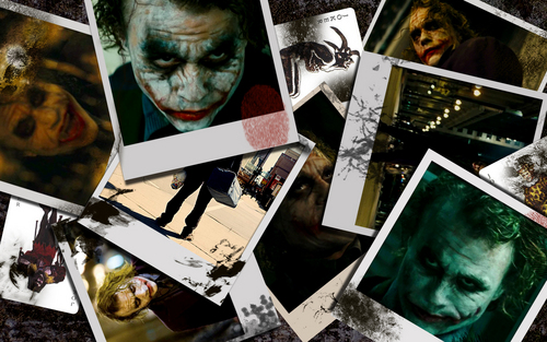 Joker wallpaper with Anime and a newspaper titled The Joker hahaha!