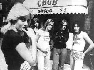 Les Runaways fond d'écran entitled The Runaways at CBGB