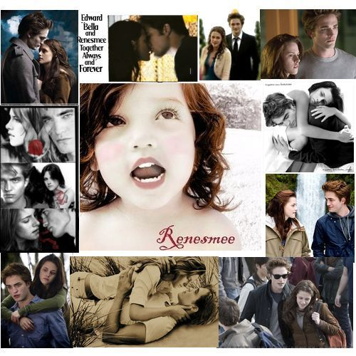 The best mash-up in the world of edward and bella[human] and then her other life [vampire]