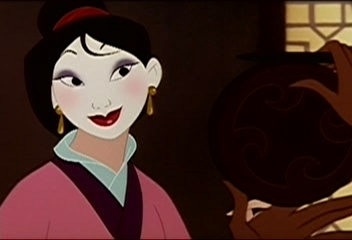 The princess Mulan