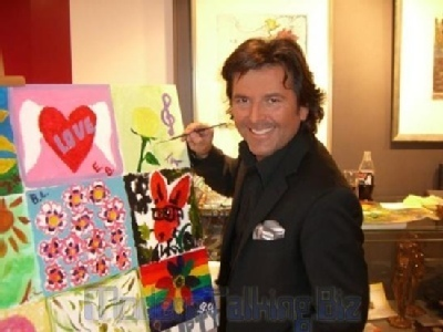Thomas Anders achtergrond titled Thomas Anders