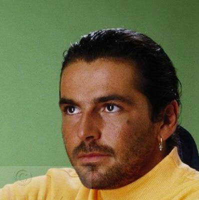 Thomas Anders achtergrond with a portrait entitled Thomas Anders