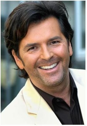 Thomas Anders Hintergrund with a portrait called Thomas Anders