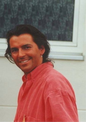 Thomas Anders achtergrond probably with a portrait titled Thomas Anders