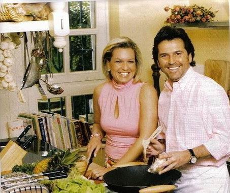 Thomas Anders Hintergrund containing a wok titled Thomas & Claudia