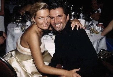 Thomas Anders achtergrond entitled Thomas & Claudia