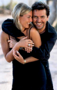 Thomas Anders Hintergrund titled Thomas & Claudia
