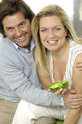 Thomas Anders Hintergrund called Thomas & Claudia