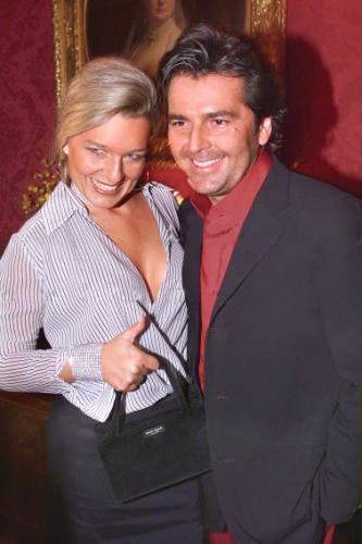 thomas anders wallpaper with a business suit entitled Thomas & Claudia