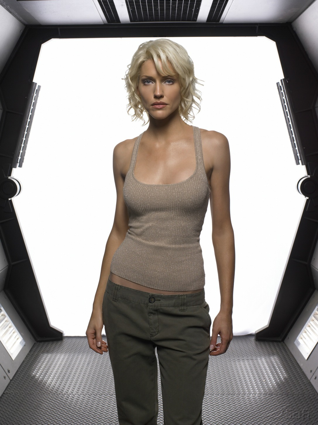 tricia helfer images tricia helfer bsg promotionalForThe Woman In Number 6