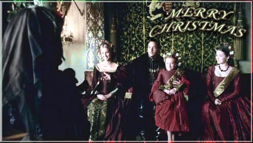 Tudors Christmas پیپر وال
