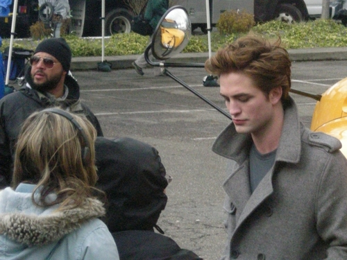 Twilight Edward Cullen candid foto