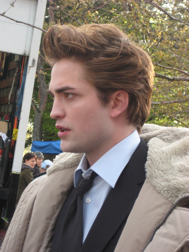 Twilight Edward Cullen candid تصویر
