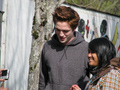Twilight Edward Cullen candid photo - twilight-series photo