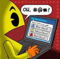 Twitter - pac-man photo