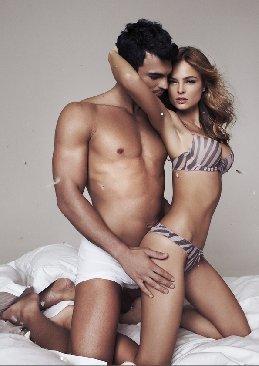 Underwear photoshoot