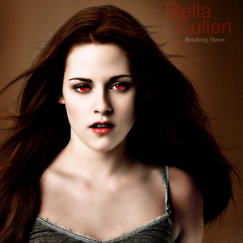 Twilight Series پیپر وال with a portrait entitled Vampire Bella