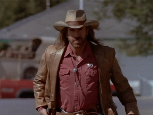 Walker Texas Ranger wallpaper with a snap brim hat, a fedora, and a boater called Swan Song