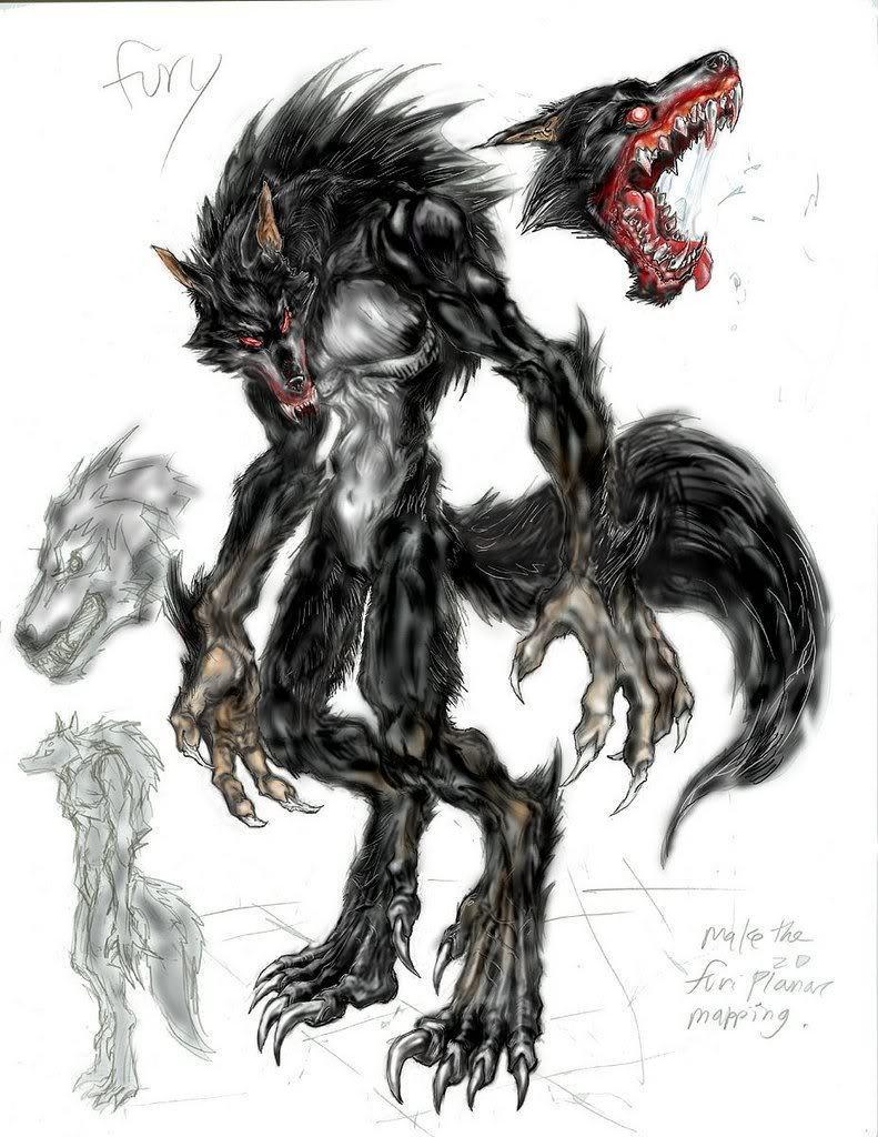World of wolfs and werewolfs werewolf