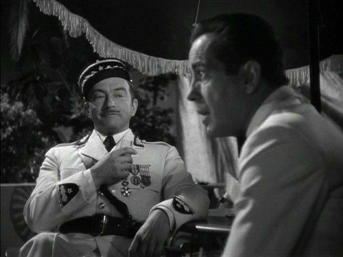 Casablanca fond d'écran containing a green beret, tenue militaire, régimentaires, regimentals, and a full dress uniform titled What in Heaven's name brought toi to Casablanca?